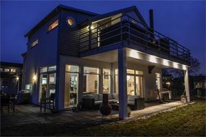 Nummer 5. Villan på Enhagen.Foto. Fastighetsbyrån