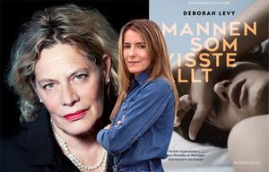"""Deborah Levy är författare och dramatiker. Hon debuterade 1989 med romanen """"Beautiful Mutants"""" och skrev senare pjäser för Royal Shakespeare Company. Hennes båda tidigare romaner """"Simma hem"""" och """"Varm mjölk"""" var finalister till Bookerpriset. Foto: Sheila Burnett/Stina Rapp"""
