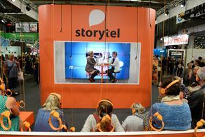 Bokförsäljningen ökade under det första halvåret 2018. Det är främst digitala abonnemangstjänster som Storytel som står för ökningen. Akrivbild.Foto: Fredrik Sandberg/TT
