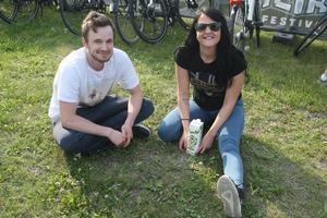 Ragnar Gille och Natalie Zibara från Uppsala var taggade på att se Toto live för första gången. Natalie har musiken med sig sedan uppväxten då hennes pappa är ett stort Totofan.