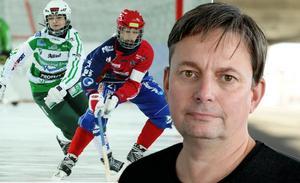 Förbundskapten Magnus Nordin ger sin syn på VSK-Kareby. Foto: TT
