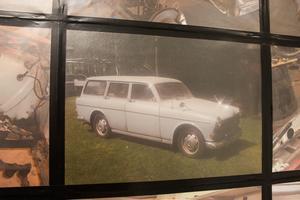 När Lars och Berit köpte bilen hade den stått stilla länge, och det första de gjorde var att göra i ordning den till bruksskick.