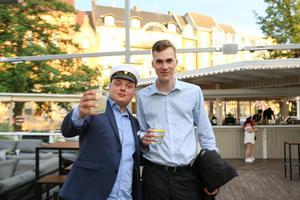 Harry Andersson och Ludwig Gidesand, Praktiska gymnasiet.