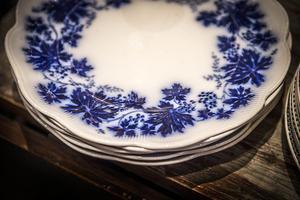 Vinranka, med sitt suddiga blå tryck, blev en storsäljare.