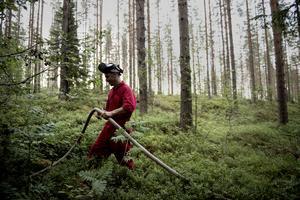 Räddningstjänstens kommunikatör Jörgen Vikström menar att fullt fokus ligger på instanserna som har hand om släckningsarbetet. – Ingen får pusta ut, säger han.