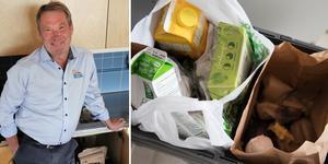 """Micael Grandin, produktchef för Återvinning på Falu Energi & Vatten, gläds över beskedet: """"Fantastiskt roligt"""".  Foto: Falu Energi & Vatten, Henrik Montgomery"""