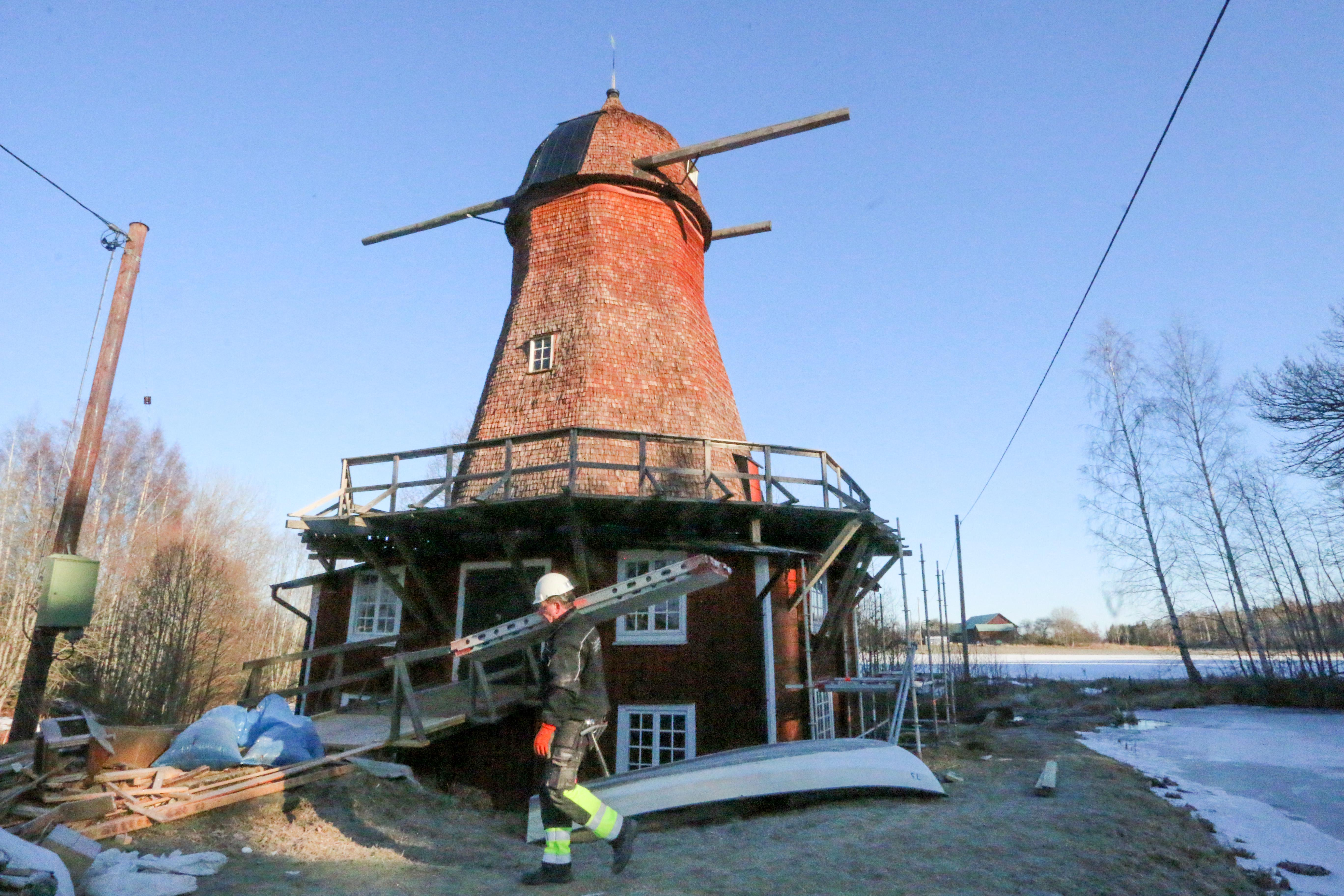 Ernst kirchsteigers renovering av kvarnen var olaglig