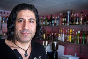 Krögaren Mustafa Chehade ser fram emot att äntligen få komma igång med bygget av nya Pinchosrestaurangen.