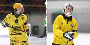 Åby/Tjuredas Filip Bringe och Brobergs Magnus Fryklund.