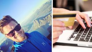 Thomas Gilén, styrelseordförande för Cryptomagic. Bilden är ett montage.