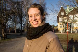 Karoline Espås har arbetat på Sjöviks folkhögskola sedan 2016.