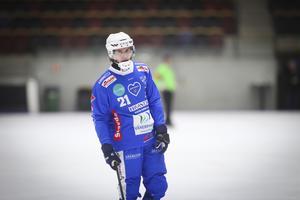 Emil Viklund gjorde hattrick i onsdagens match.