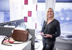 """Det belv totalt 17 år på LT för mediesäljare Gunillha Stockhaus. Hennes bästa råd till blivande säljare: """"Var dig själv, positiv och glad"""""""