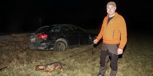 48-årige Per Danilsgård  blev vittne till biljakten som slutade i Bondarvet.