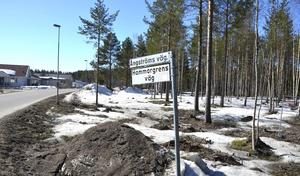 Det nya området ligger nedanför Ångströms väg, strax innan Kovland.