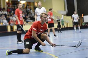Alexander Johansson Säther och hans Timrå förlorade i förlängning mot Gimonäs.