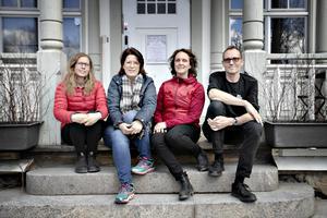 Marika Hansson är långtifrån ensam. Hon kommer att driva de kommersiella delarna av Wij trädgårdar tillsammans med Ulrika Gunnari, ekonomichef, Malin Hermansson, vd, och Keith Lindström, chef för restaurang och logi.