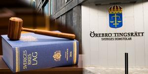Örebro tingsrätt friade mannen för sprängningen, men han dömdes för grovt narkotikabrott.