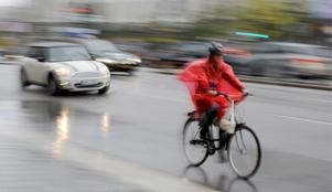 Skribenten vädjar till sina medtrafikanter att ta hänsyn till cyklister. Bild: Bertil Ericson/TT