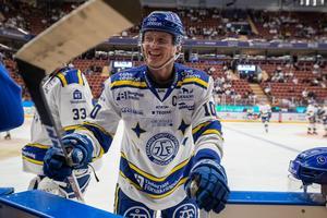 Martin Karlsson blir kvar i Leksand i ytterligare tre år. Bild: Daniel Eriksson/Bildbyrån.