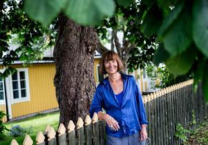 Journalisten och författaren Gunilla Thorgren är en av tre initiativtagare till museet Nya Stockholms Kvinnohistoriska. Foto: Christine Olsson/TT