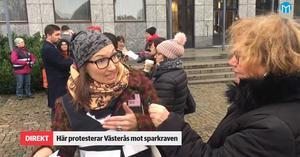 Elin Hedén, verksamhetsansvarig på Kvinnohuset i Västerås.