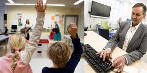 Barn med neuropsykiatriska diagnoser som adhd och Aspergers syndrom har ökat i Falun, säger Johan Svedmark, barn- och utbildningschef. Nu ska Falu kommun utreda hur skolan kan förbättra stödet. Arkivbilder:  Christina Larsen och Jessica Gow , TT.