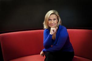 Journalisten, tv-programledaren, tv-producenten, chefredaktören och tidigare chefen för Svenska filminstitutet Cissi Elwin. Foto: TT