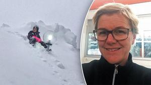 Lena Sjödin Romans bild på dottern blev viral.