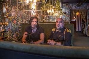 Delägarna Mustafa Chehade och Valid Rekkab ser fram emot öppningen på fredag.