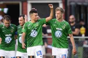 Avestasonen Alexander Jallow, Jönköpings Södra, kommer hem till Dalarna i helgen för att möta sin tidigare klubb IK Brage.  Foto: Mikael Fritzon/TT