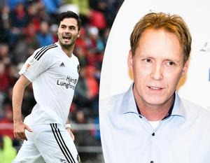 Denni Avdic var nära en utlåning till ÖSK, men trots att den inte gick i lås är sportchefen Magnus Sköldmark ändå nöjd med vinterns transferfönster. Arkivfoto: TT/NA