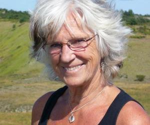Christina Hartin Silvergran är en av de lokala aktivisterna som menar att pensionssystemet måste göras om.