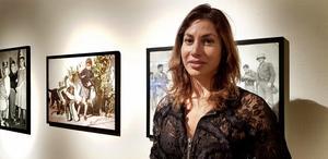 """Dokumentärfilmaren Angela Bravo visar en film """"Leila Nash"""" och tre kompletterande fotografier."""
