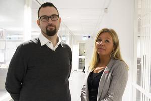 Magnus Alfredsson och Anneli Hallström, Kommunal, har bjudit in till en politikerträff.