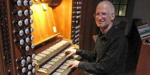 Martin Schiffer, kantor och drivande musikalisk kraft i Lits församling.