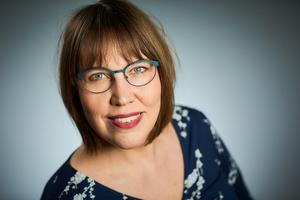 Till hösten kommer Angelica Öhrn med ytterligare en bok.Foto: Pia Nordlander