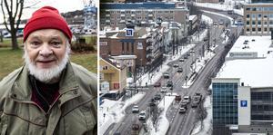 Bo Ekeborg (SD) vill se en tunnel genom centrala stan istället för Åsbergstunneln.
