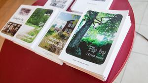 Förutom en innehållsrik text försöker de fylla böckerna med så många bilder som möjligt. Det ger extra dimension, menar Birgit Lundgren.