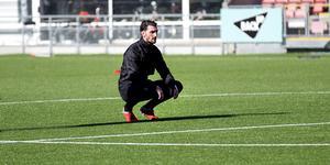 Agon Mehmeti har problem med sina hälsenor och kan därför inte spela från start för ÖSK.
