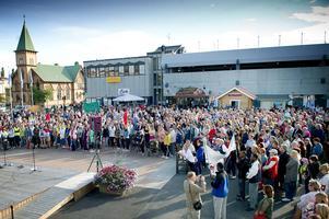 Befolkningen i Bollnäs kommun ökar igen. / Arkivbild