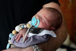 Den 10 februari kom lille Kian till världen.