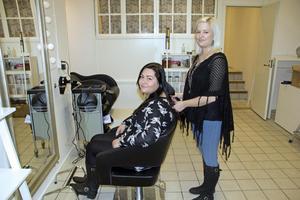 Numera har Marte och Kristin rymliga lokaler för sin verksamhet.