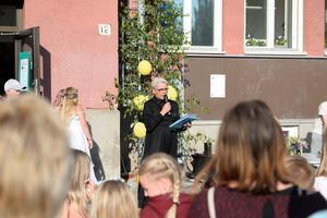 Rektor Lena Ytterström hälsade alla välkomna.