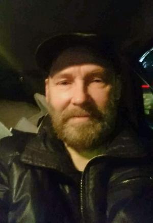 Kent Flink i den jacka han, enligt uppgift, hade på sig när han försvann.Foto: Privat