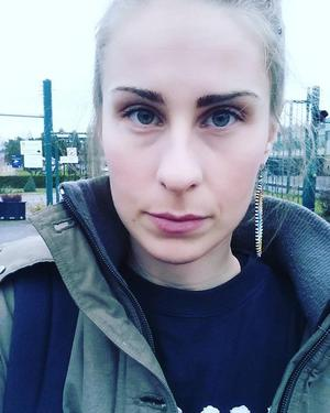 Jessica Thiel var ute i Lisjöskogarna och försökte stoppa licensjakten. Foto: privat