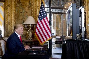 USA:s president Donald Trump. AP Photo/Andrew Harnik.