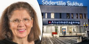 Lena Sunnermalm. Foto: Södertälje sjukhus och TT