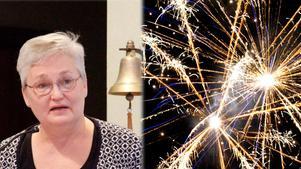 Irene Andersson är orolig för fyrverkerierna som avfyras i Timrå och vill att det skapas klara regler kring användandet. Bilden är ett montage.