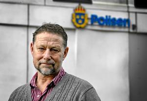 Anders Sjöberg, kommunikatör på polisområdet i Bergslagens polisdistrikt.